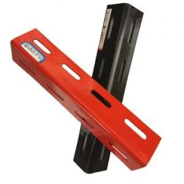 Perforated Powder Coated Steel Slotted Angle Bar for Shelf