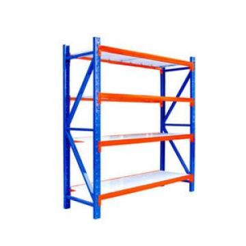 Heavy Style Double Side Supermarket Rack Commercial Gondola Shelving