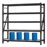 Ebiltech Adjustable Metal Shelving Industrial Storage Heavy Duty Rack Warehouse System